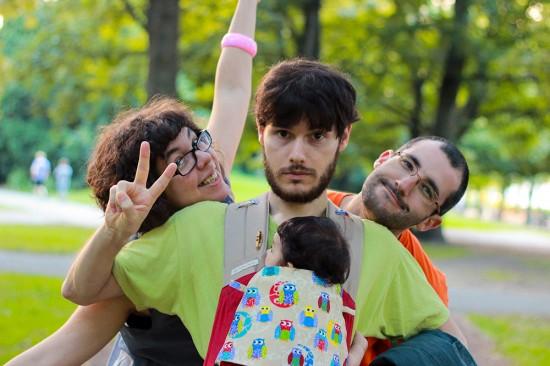 Eli, Gil, Jordi i Ona al Humboldthain