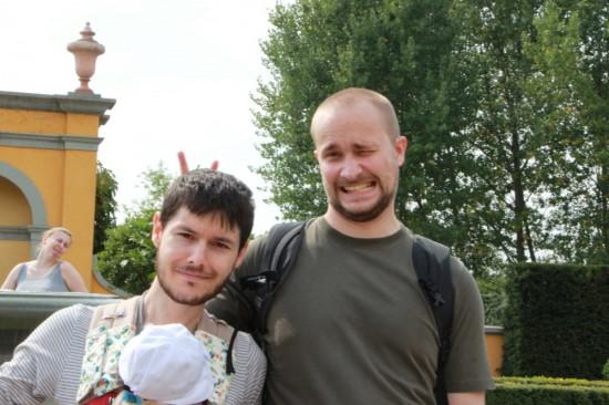Amb en Krzemek, i la Marta de fons