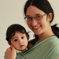 Mama i Ona amb el Moby Wrap