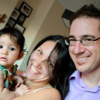 L'Ona amb la Mònica i el Gerard
