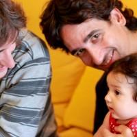 L'Ona amb el Xavi i el Sergi