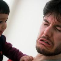 "Papa amb cara d'""Ona enfadada"""