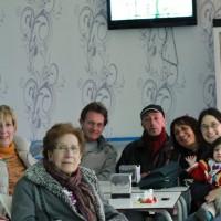 Amb els amics britànics de la iaia