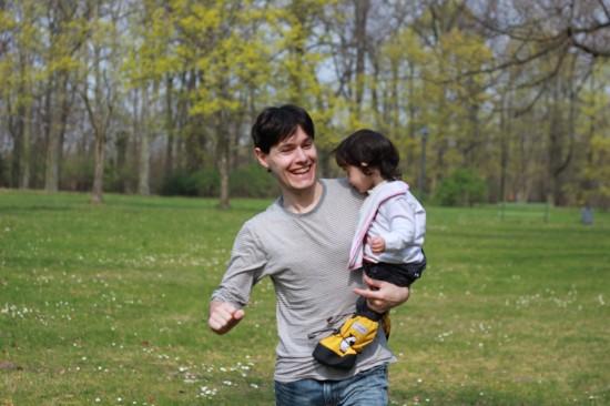 Celebrant l'aniversari de l'Ona amb un pícnic familiar