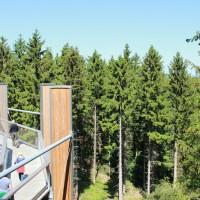 Vistes des de la plataforma petita de la reserva natural