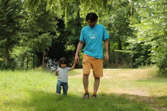 Caminant amb el papa