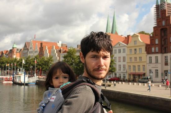 Entrant a l'illa del centre històric de Lübeck