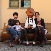 Foto de guiris, que és agost i hem anat a fer el guiri!