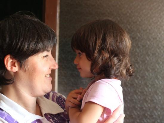 Amb la tieta Núria