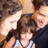 Amb el Sergi i la Beth, fent un Skype